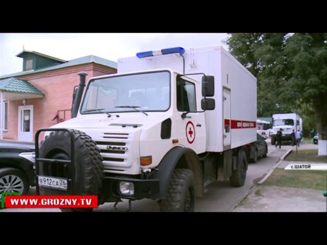 В чеченском высокогорье проходит масштабная диспансеризация