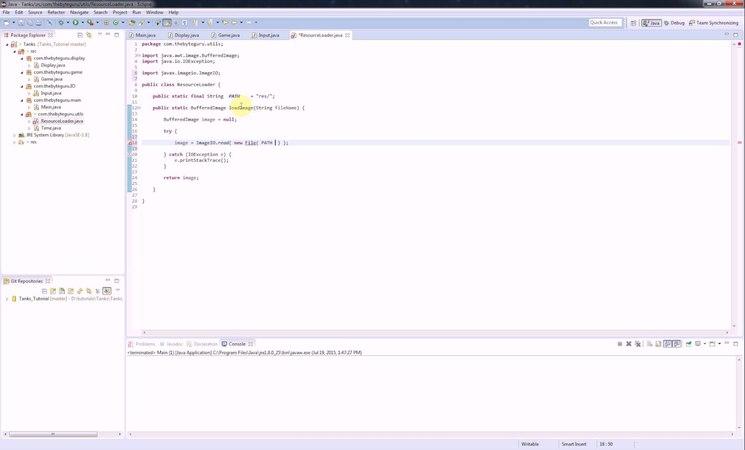 Пишем игру на Java(Ява) - Клон Танков - Загружаем ресурсы из файла - [8]