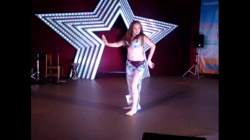 Егорова Юлия_ориентал_3лига_юниоры DanceRest Fest 30 июня 2018 г. Ялта студиявосточноготанцаграциясимферополь