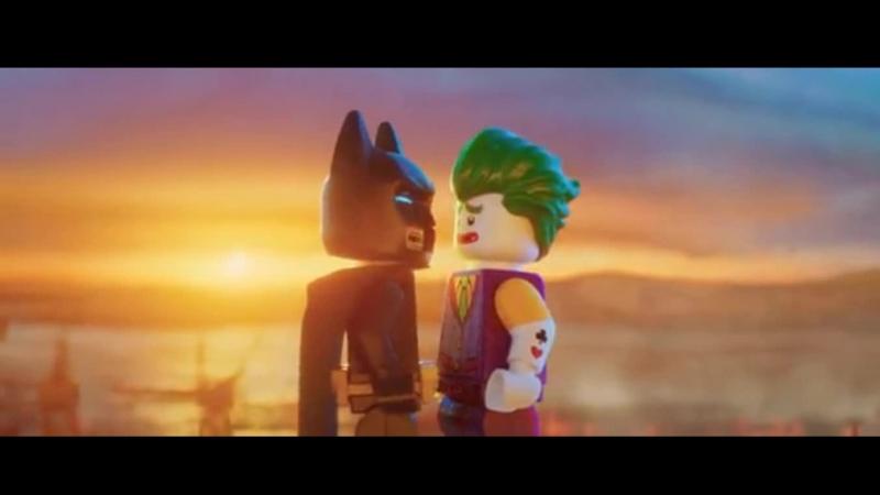 Лего Фильм сложные отношения Бетмена и Джокера 3