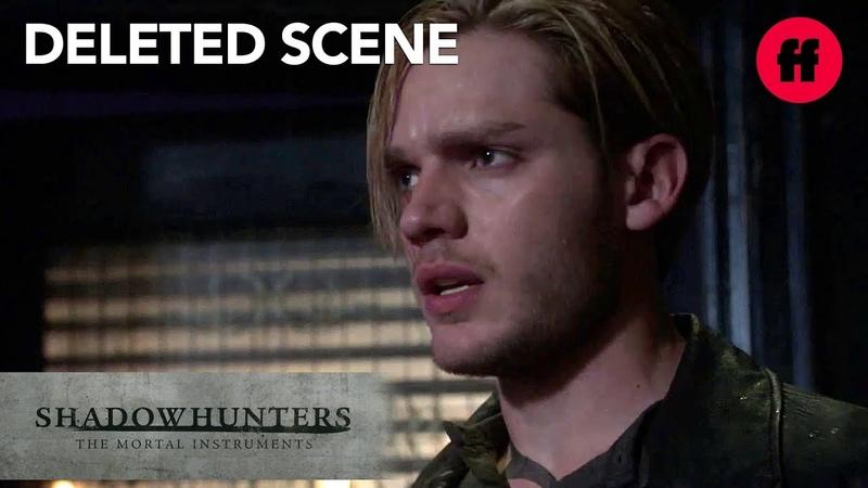 Shadowhunters Season 3 Deleted Scene   Jace Sees Jonathan Outside The Hunters Moon   Freeform