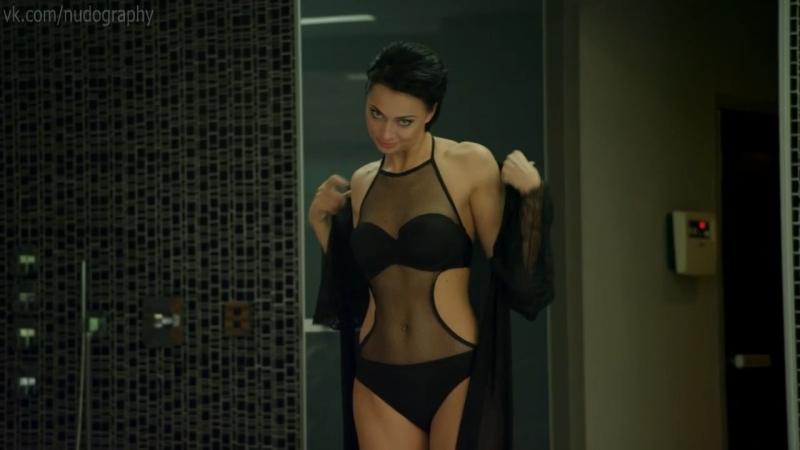 Настасья Самбурская в сериале Две жены (2017, Карен Захаров) - 1 серия