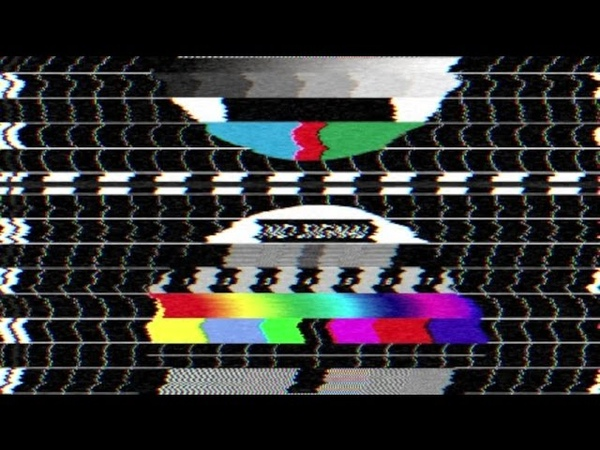 Glitch and Static Noise VHS Tape | Free Footage | Sound Effect [2K HD]