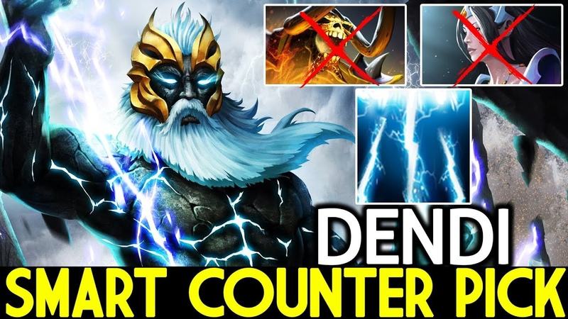Dendi [Zeus] Smart Counter Pick God Game 7.19 Dota 2