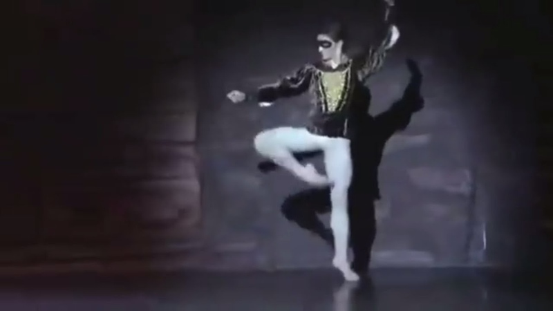Sergei Polunin/Сергей Полунин Masks Prokofiev's Romeo Juliet - Act 1 Scene 2. An iMovie iMade..