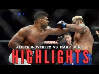 Alistair Overeem vs. Mark Hunt ● Fight Highlights ● HD