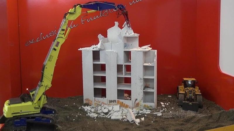 Liebherr Litronic 944 RC Demolition Excavator Fascination RC Model 2018 Friedrichshafen