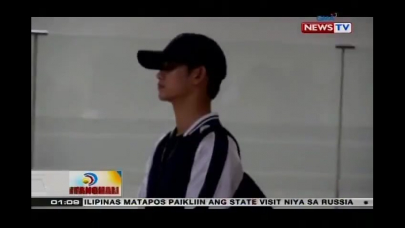 170524 KimSooHyun at Manila for Samsung's QLED TV Launch / for GMA news