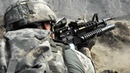 Afghanistan War US Soldiers in Heavy Combat Action During Taliban Ambush