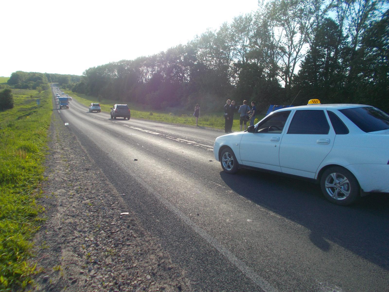 В результате ДТП пострадал пассажир