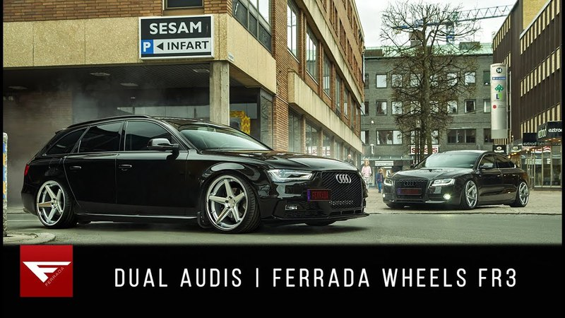 Dual Audis Swedish Combo Ferrada Wheels FR3