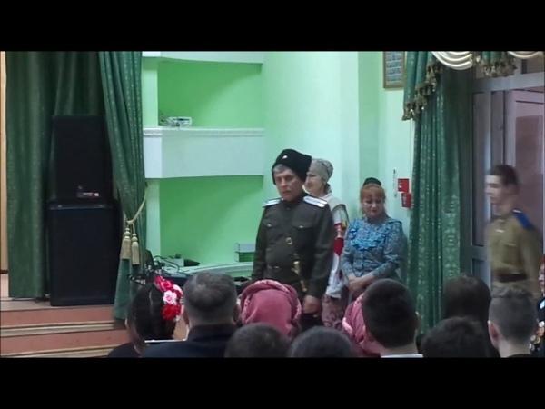 Мастер-класс по фланкировке от военно-исторического клуба Казачья слава