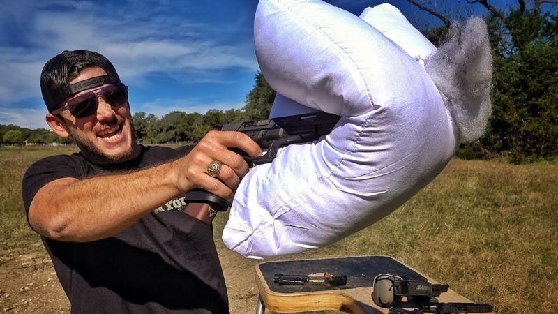 Миф о глушителе из подушки | Разрушительное ранчо | Перевод Zёбры