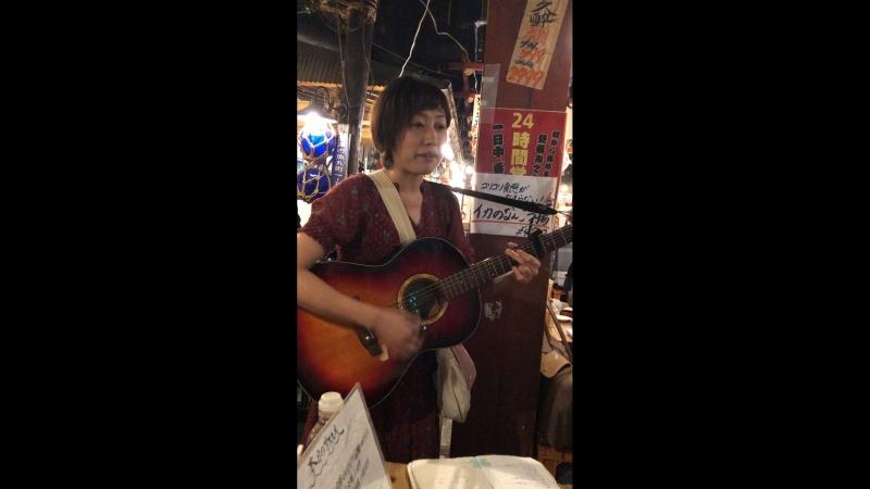 Японка поёт мне песню про любовь