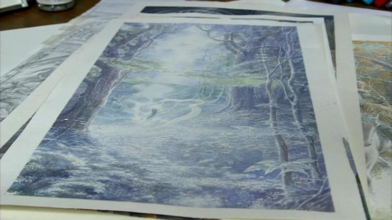 Tolkien`s Beren Luthien (Alan Lee) vk.com/eldamaranquendi