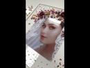 портрет с флористикиой в подарок