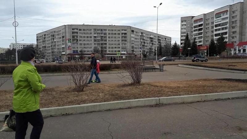 21 апреля 2018. Кан. Ледоход в Зеленогорске