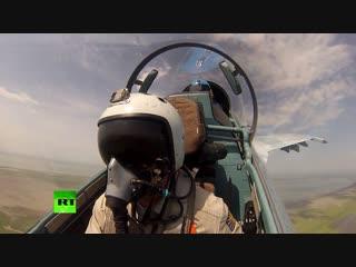 Лётчики ЮВО провели тактические учения в Крыму и на Кубани