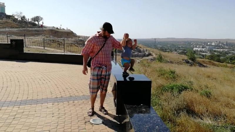 Керчь 2018 гора Медридат на вершине которой создан Мемориал воинской славы