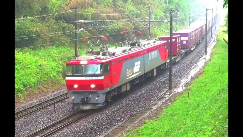 EH500 901号機、四季島、キハ110系。(東北本線) - rabuca2012