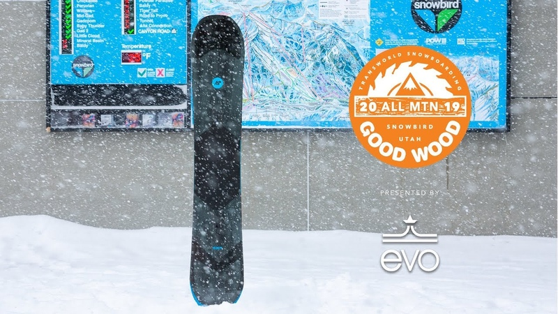 K2 Broadcast Review Men's All-Mountain Winner – Good Wood Snowboard Test 2018-2019