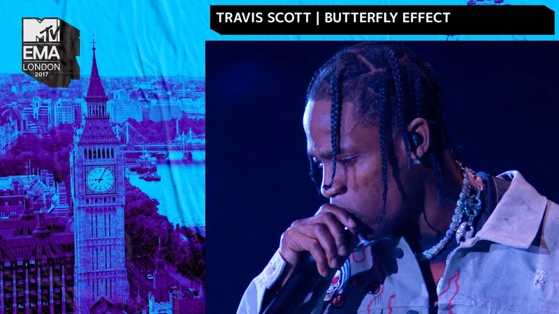 Travis Scott Performs 'Butterfly Effect' MTV 2017 EMAs Live Performance MTV Music