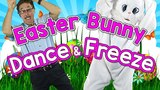 Easter Bunny Dance & Freeze | Springtime Song for Kids | Fun Dance Song for Children | Jack Hartmann