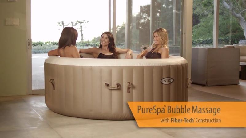 Intex PureSpa Portable Bubble Massage Hot Tub