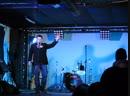 Организатор Прыжка И.Эпанаев читает стихи и объявляет Кукольный театр . ВидеоМИГ