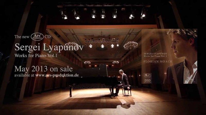 Lyapunov Tarantella Op 25 Florian Noack Piano