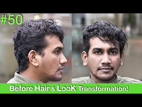 Hair MakeoverHair Transformation 2018   Haircut   Hair Straightening   Hairstyle for Men UAEUSA