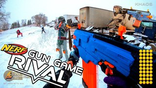 NERF GUN GAME | RIVAL EDITION! (First Person Shooter in 4k!)