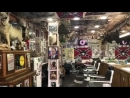 The only American old school 1950s barbershop in russia the only spot your gonna only hear great doo wop like this or 1950s rock