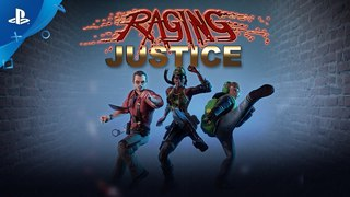 Raging Justice – New Character – Coming May 8 | PS4