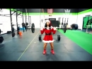 STRONG and FUNNY GIRL Ashley Nocera WORKOUT