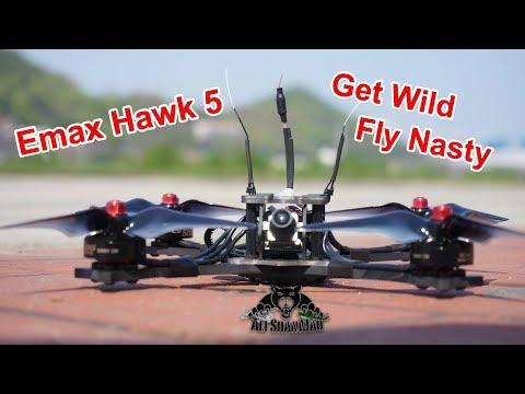 100 mph FPV Racing Quadcopter Emax Hawk 5 with Magnum F4 FC