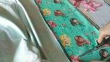 Лонгслив с русалками на бытовой швейной машинке / Longleeve for my little girl
