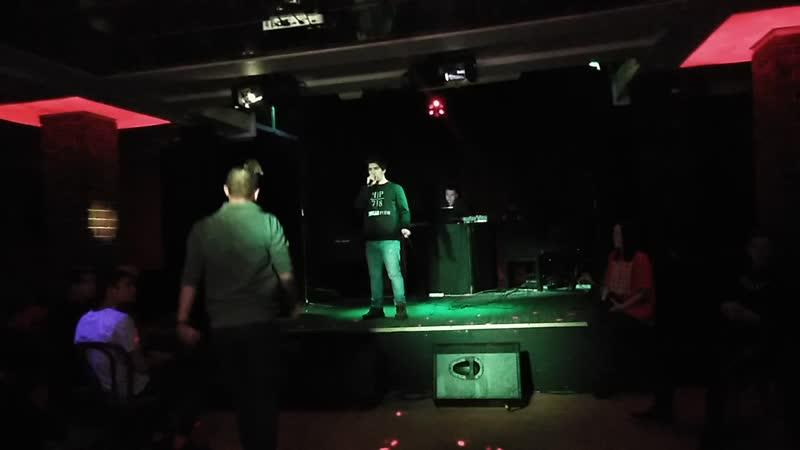 K!NG-Грязный Кэш (live) 02.12.2018[клуб Алиби]