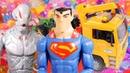 Супермен и машинки Видео на английском языке