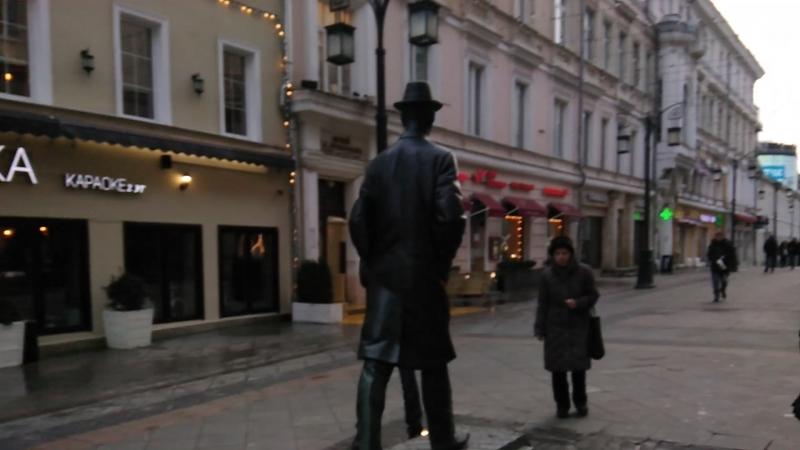 Прогулка в центре Москвы