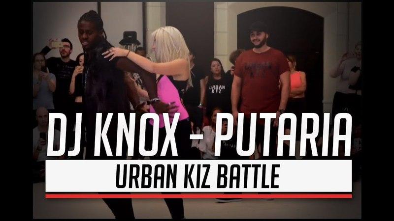 Dj Knox - Putaria / Enah Lebon Carolina Moun - Urbankiz Battle