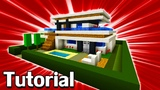 Minecraft Tutorial How To Make A Modern House #10