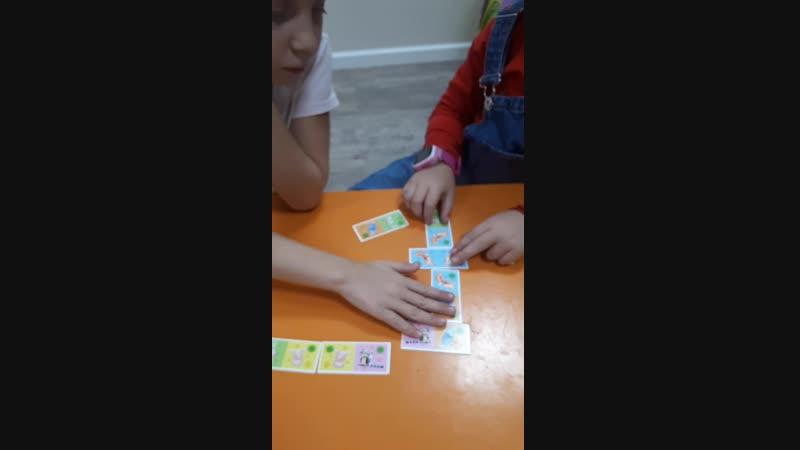Играем в домино на английском