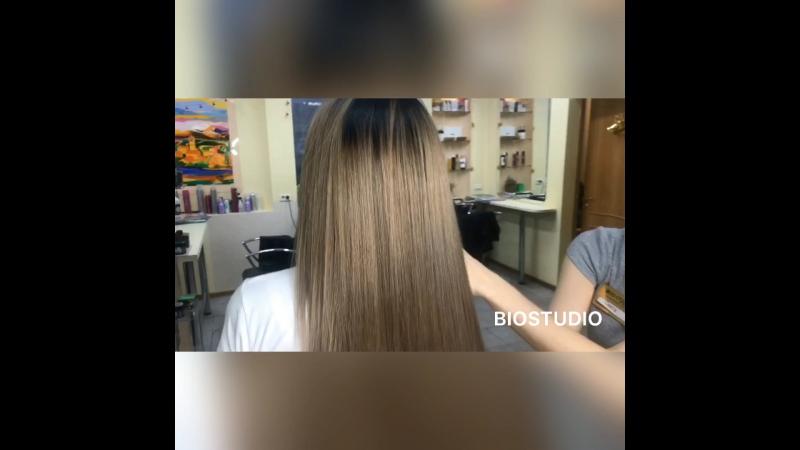 Окрашивание волос BIOSTUDIO