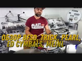 Стрим Blast Friday: Trick, Pearl, ED Cymbals, Big Fat Snare Drum, Meinl