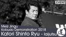 Tenshin Shoden Katori Shinto Ryu Iaijutsu Meiji Jingu Kobudo Demonstration 2018