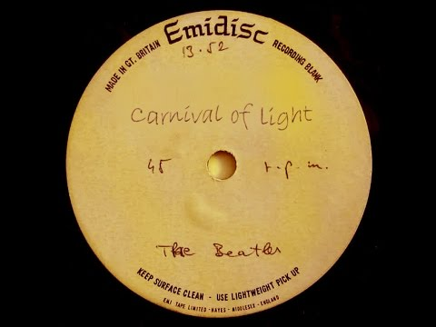 Beatles Carnival of Light Acetate Surfaces