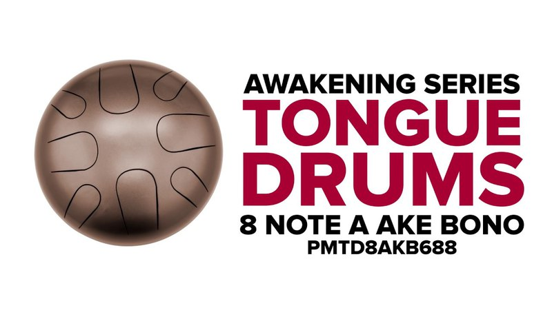 8 Note A Ake Bono - Awakening Series Tongue Drums