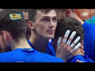 Полетаев. RUSSIA vs USA FIVB Mens World Championship 2018