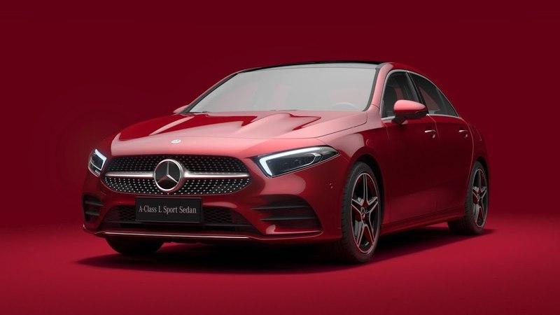 2019 Mercedes-Benz A-Class Sedan (Design)